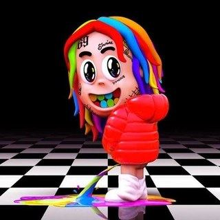 6ix9ine - Dummy Boy - Limited Edition 2 LP import colored Vinyl