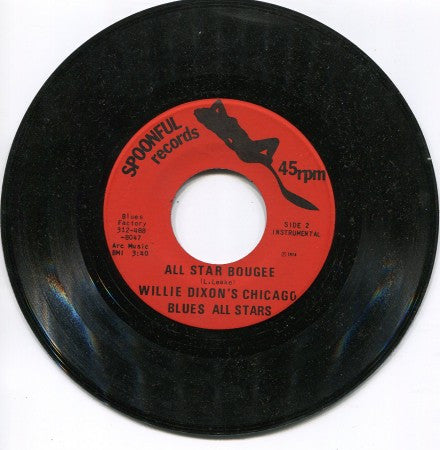 Willie Dixon All-Stars - Good Time Baby (Featuring McKenly Mitchell) / All Star Bougee (instrumental)