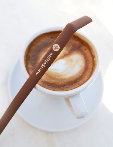"2 PACK: Mocha 10"" + Mocha 8"" with brush (in home-compostable packaging)"