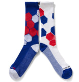 Red, White and Blue Socks