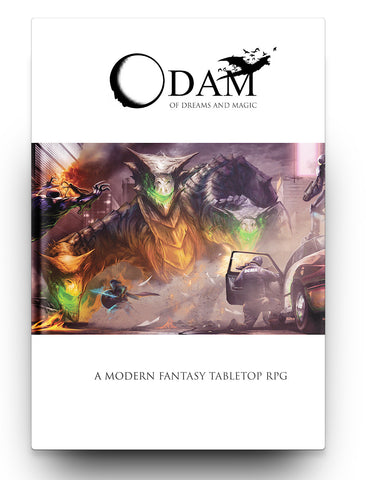Of Dreams and Magic Core Rulebook Hardcover + PDF Bundle