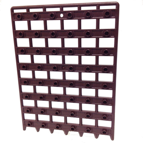 Lego Parts: Door 1 x 12 x 16 Castle Gate - Portcullis (Dark Brown)
