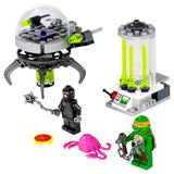 "Lego® Parts: Animal, Land T.M.N.T. ""The Kraang with Lime Green Eyes Pattern"""