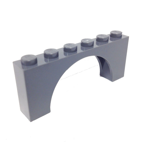 Brick, Arch 1 x 6 x 2 Thin Top without Reinforced Underside (6052786 - 12939)