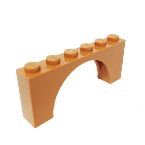 Lego Parts: Brick, Arch 1 x 6 x 2 - Thin Top (6106193 - 12939)