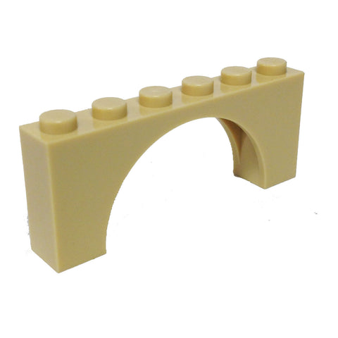 Brick, Arch 1 x 6 x 2 - Thin Top without Reinforced Underside (6040250 - 12939)