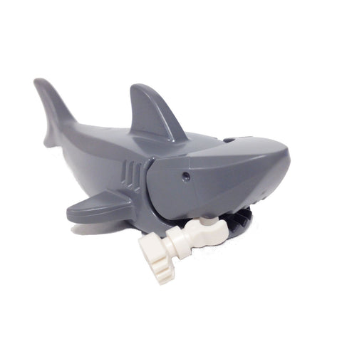 Lego Dark Bluish Gray Shark with Gills and Leg (6044722 - 14518c01)