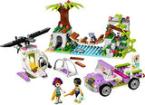 Lego Parts: Plant Vine with Leaves, 16L (Lime)