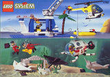 "Lego® Town Diver Sets #1782 ""Discovery Station"" Sticker Sheet #2 (Fish & Coral)"