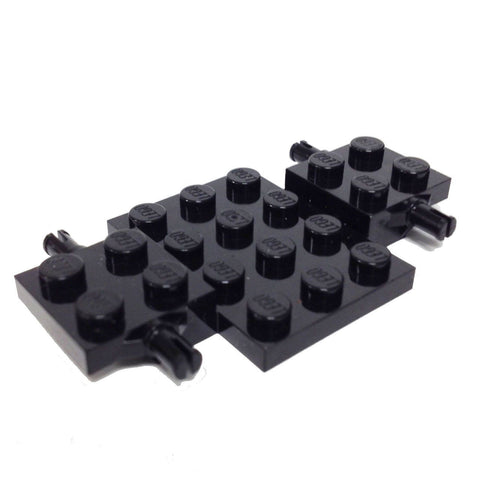 Lego Parts: Vehicle, Base 4 x 7 x 2/3 (Black)