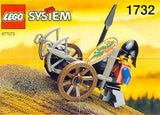 Lego Parts: Wheel Wagon Small (27mm Diameter) (Brown)