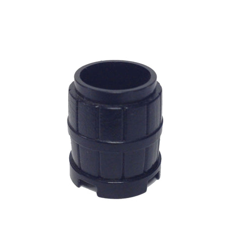 Lego Parts: Container, Barrel 2 x 2 x 2 (Black)