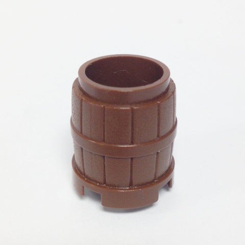 Lego Parts: Container, Barrel 2 x 2 x 2 (Brown)
