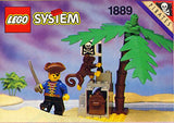 Lego Parts: Plant, Palm Tree Top (Brown)