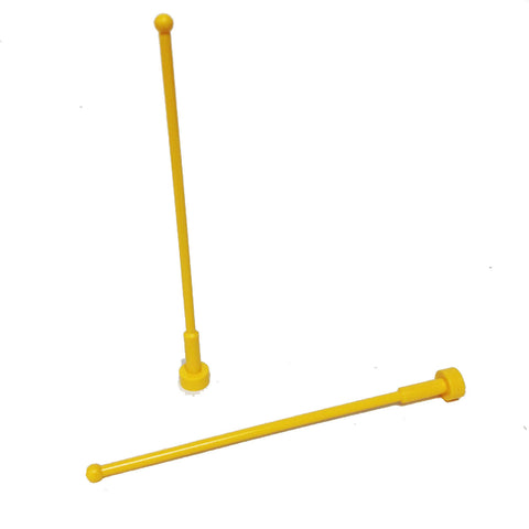 Lego Parts: Antenna Whip 8H (PACK of 2) (4124458 - 2569)
