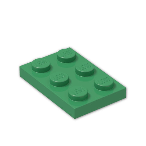 LEGO® Parts: Plate 2 x 3 #3021 (Pack of 8)