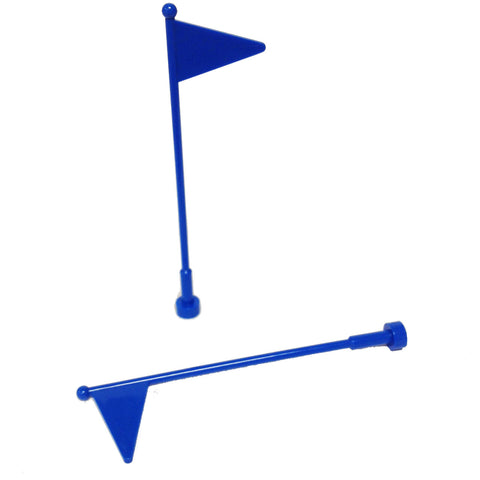 Lego Parts: Antenna Whip with Flag (PACK of 2) (30322)