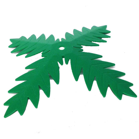 Lego Parts: Plant, Tree Palm Leaf (4 Blades - Green)