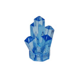 "Lego Parts: Rock 1 x 1 Crystal ""5 Point"" (Transparent Medium Blue)"