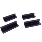 Lego Parts: Panel 1 x 4 x 1 (PACK of 4 - Black)