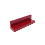 Lego Parts: Panel 1 x 4 x 1 (Dark Red)
