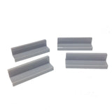 Lego Parts: Panel 1 x 4 x 1 (PACK of 4 - LBGray)