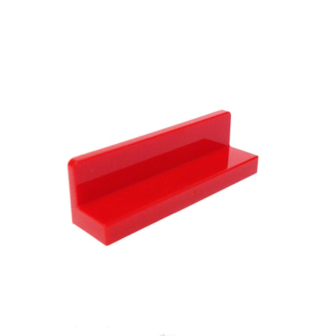 Lego Parts: Panel 1 x 4 x 1 (Red)