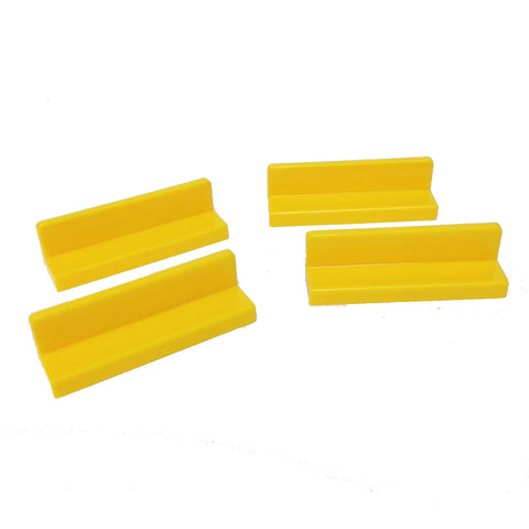 Lego Parts: Panel 1 x 4 x 1 (PACK of 4 - Yellow)