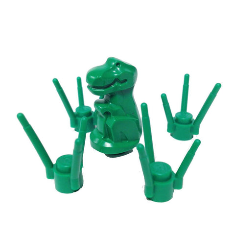 "MinifigurePacks: Lego Dinosaur ""BABY T-REX"" in the Grass (Green)"