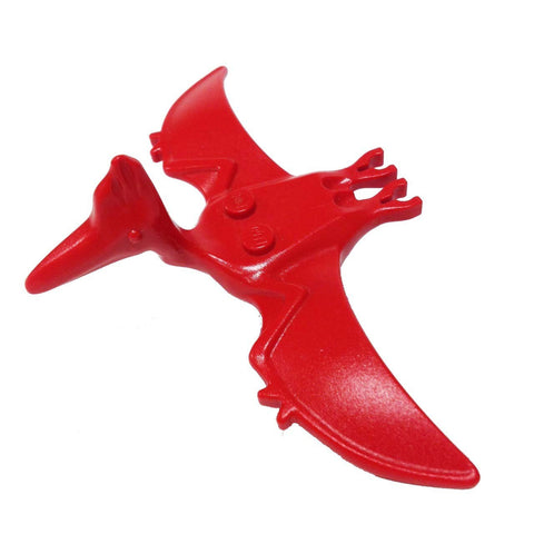Lego Parts: Dino Pteranodon (Red)