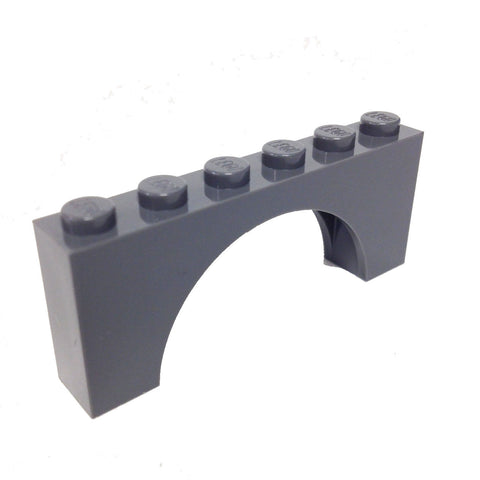 Lego Parts: Brick, Arch 1 x 6 x 2 Thick Top with Reinforced Underside (4277153 - 3307)