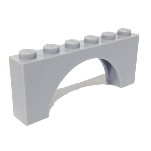 Lego Parts: Brick, Arch 1 x 6 x 2 - Thick Top with Reinforced Underside (4221600 - 3307)