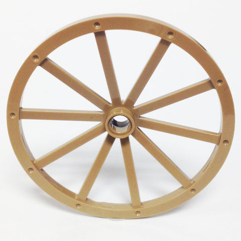 Lego Parts: Wheel Wagon Giant (56mm Diameter) (Dark Tan)