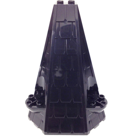 Lego Parts: Tower Roof 6 x 8 x 9 (Black)