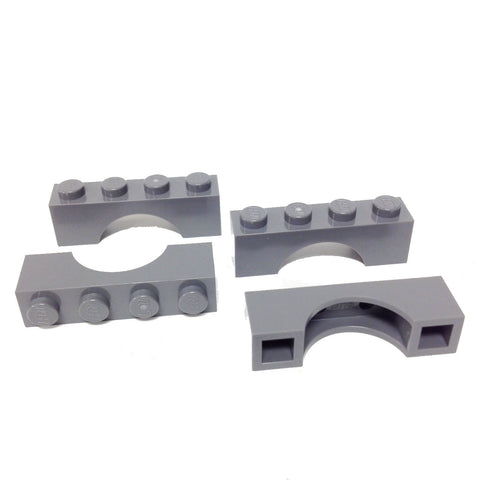 Lego Parts: Brick, Arch 1 x 4 (Pack of 4) (4210999 - 3659)