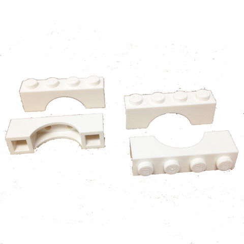Lego Parts: Brick, Arch 1 x 4 (Pack of 4) (365901 - 3659)