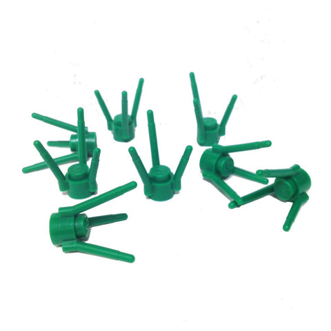 Lego Parts: Plant Flower Stems (PACK of 8 - Green)