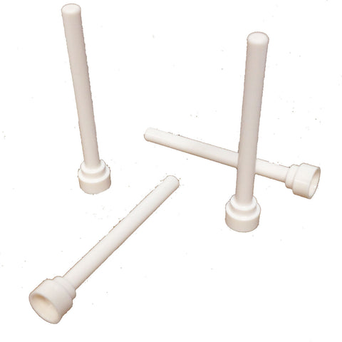 Lego Parts: Antenna 1 x 4 - Flat Top (PACK of 4) (4284047 - 3957b)