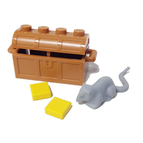 "Lego Parts: Animal, Land ""Rat with Chest and Cheeses"" (4512743 - 40234)"