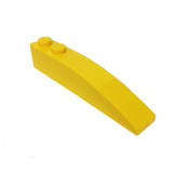 Lego Parts: Slope, Curved 6 x 1 (Yellow)