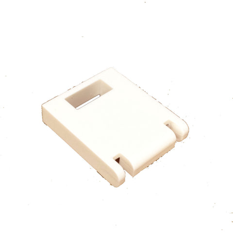 Lego Parts: Container, Box Door 2 x 2 x 2 with Slot (White)