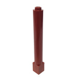 Lego Parts: Support 1 x 1 x 6 Solid Pillar (Reddish Brown)