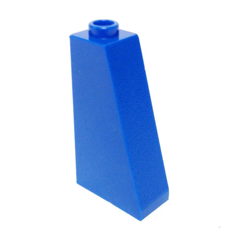 Lego Parts: Slope 75° 2 x 1 x 3 - Hollow Stud (Blue)