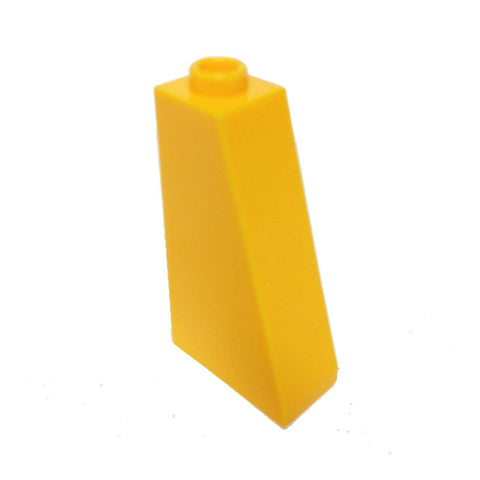 Lego Parts: Slope 75° 2 x 1 x 3 - Hollow Stud (Bright Light Orange)