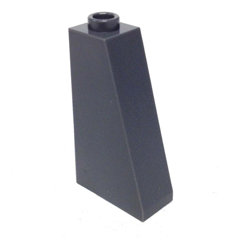 Lego Parts: Slope 75° 2 x 1 x 3 - Hollow Stud (DBGray)