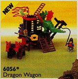 Lego Parts: Wheel Wagon Large (33mm Diameter) (PACK of 2 - Brown)
