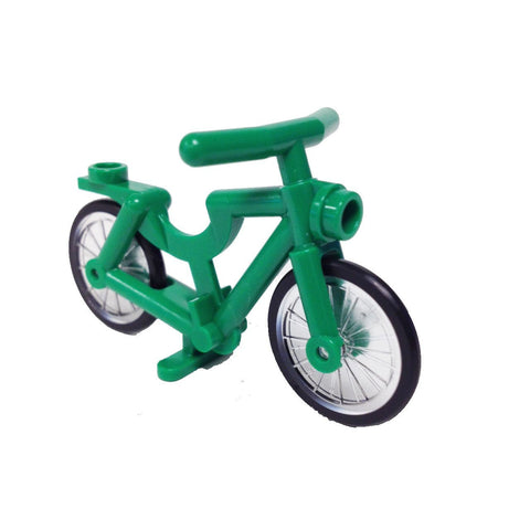 Lego Bicycle, Complete Assembly (Green) (4592277 - 4719c01)