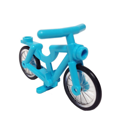 Lego Bicycle, Complete Assembly (Medium Azure) (4620433 - 4719c01)