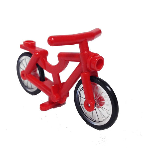 Lego Bicycle, Complete Assembly (Red) (4558856 - 4719c01)
