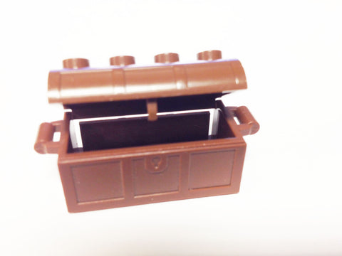 Lego Parts: Container, Treasure Chest (Brown)